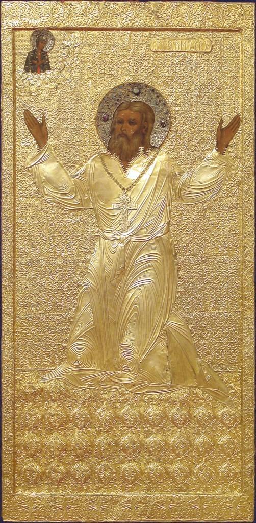 Икона прп.Серафима Саровского 1912 г. Пещерный храм
