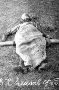 1918 г. Октябрь. Труп Великой Княгини
